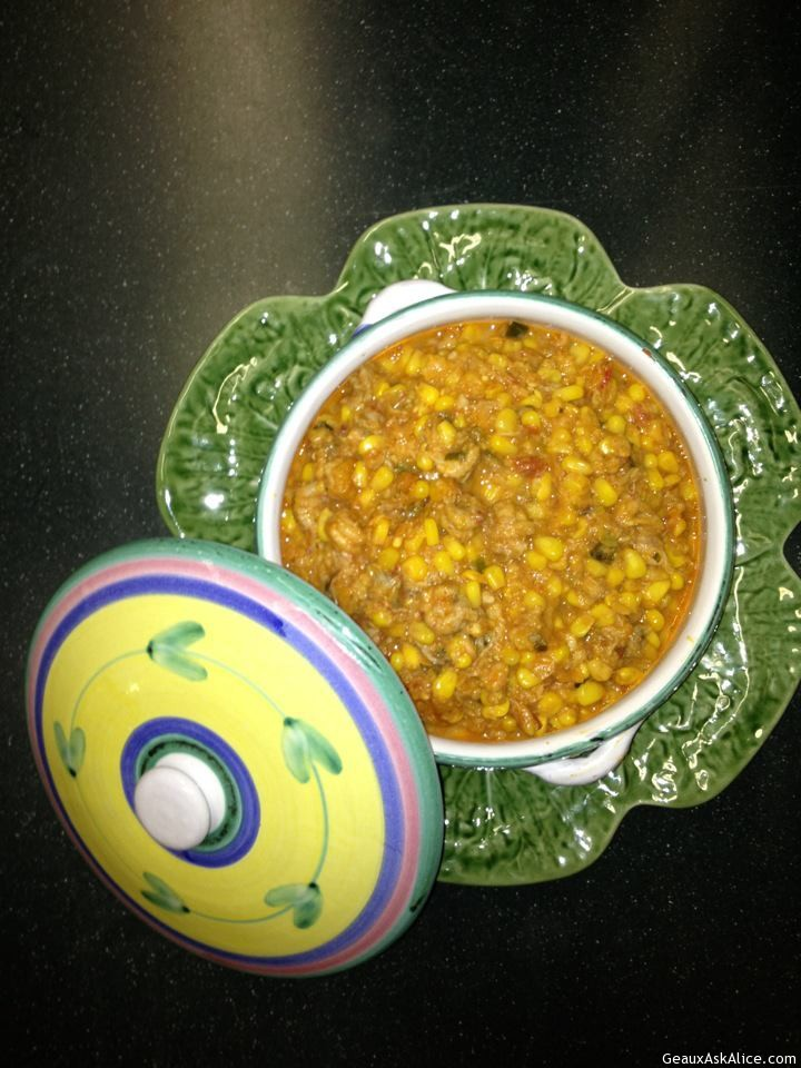 Corn Macque Choux