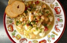 Seafood Corn Chowder