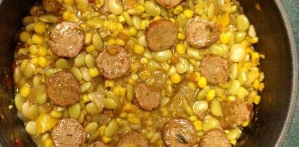 Home » Recipes » Meats & Fowl » Pork » Alice's Succotash