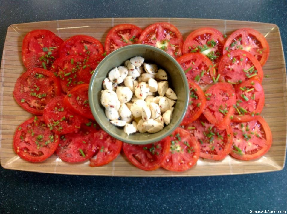 Tomatoes With Relish
