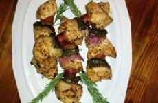 Chicken Kebobs with Veggies