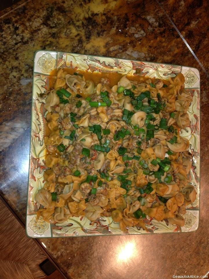 Crawfish Tortellini