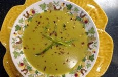 Yummy Bowl Of Aspargus Soup
