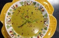 Asparagus Soup Bowl