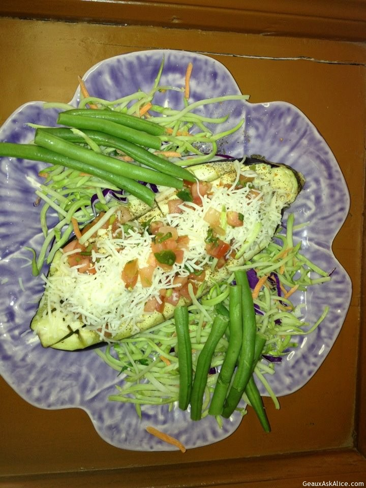 Pirogue Of Eggplant