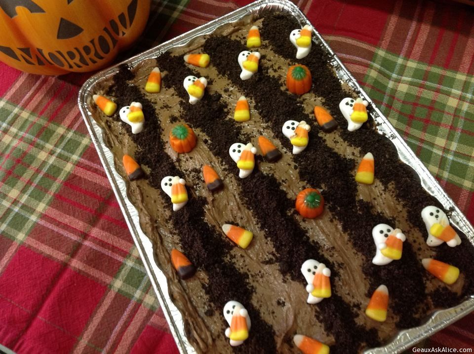 Ghost In The Graveyard Chocolate Pie