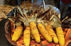 Garlic And Butter Roasted Corn On The Cob