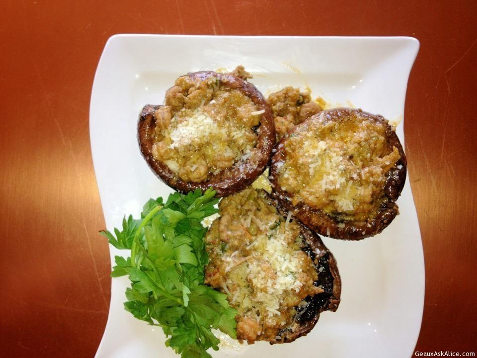 Grilled Portabella Mushrooms