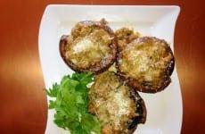 Grilled Stuffed Portabella Mushroom Caps