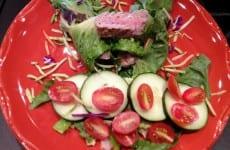 Grilled Tuna Sandwich Wrap