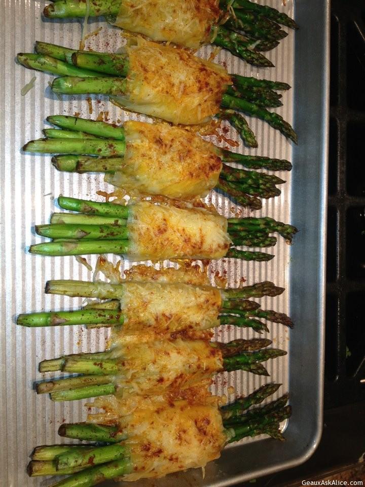 Asparagus Phyllo Wrap
