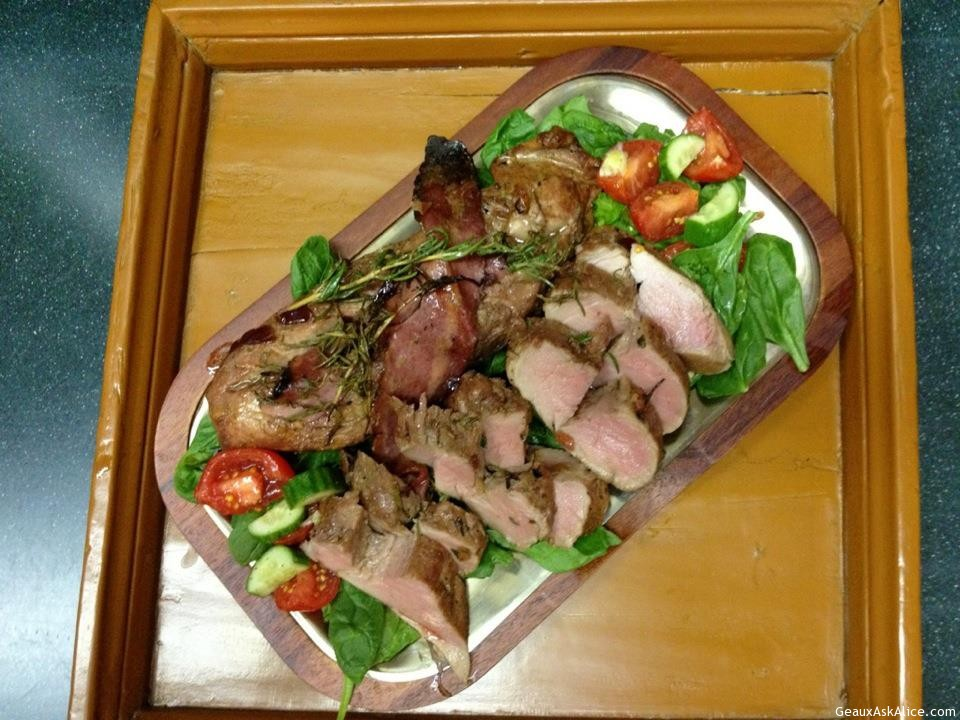 Rosemary Stuffed Pork