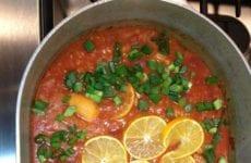 Pot Of Shrimp Creole
