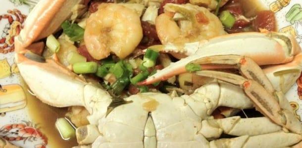 Shrimp Stew over Rice