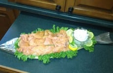 Salmon and Caper Spread