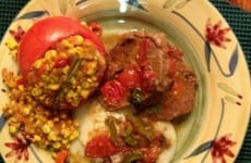 Plated Up Pepper Steak