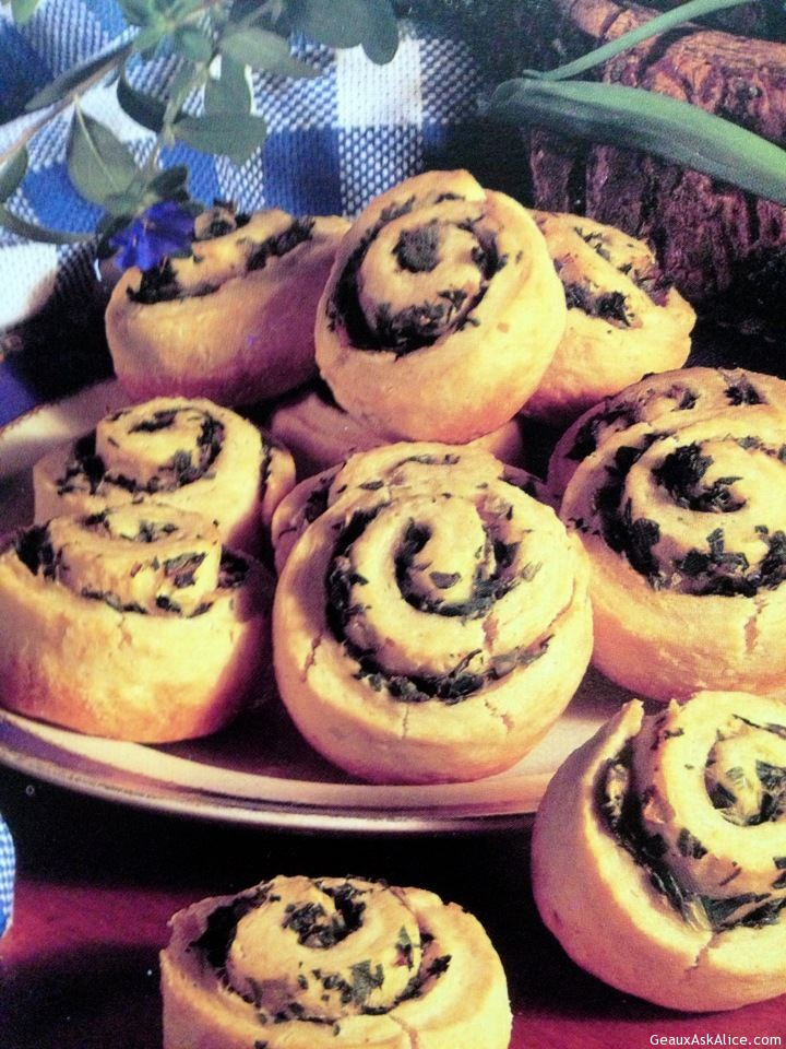 Yummy Looking Spinach Pinwheels