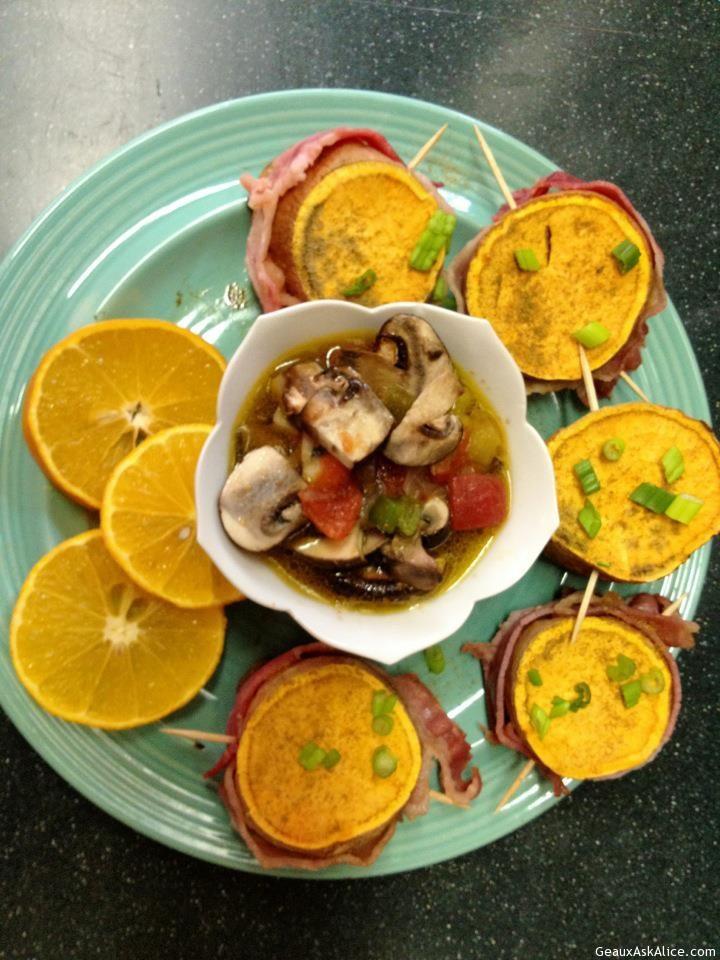 Filet Mignayam With Mushroom Sauce