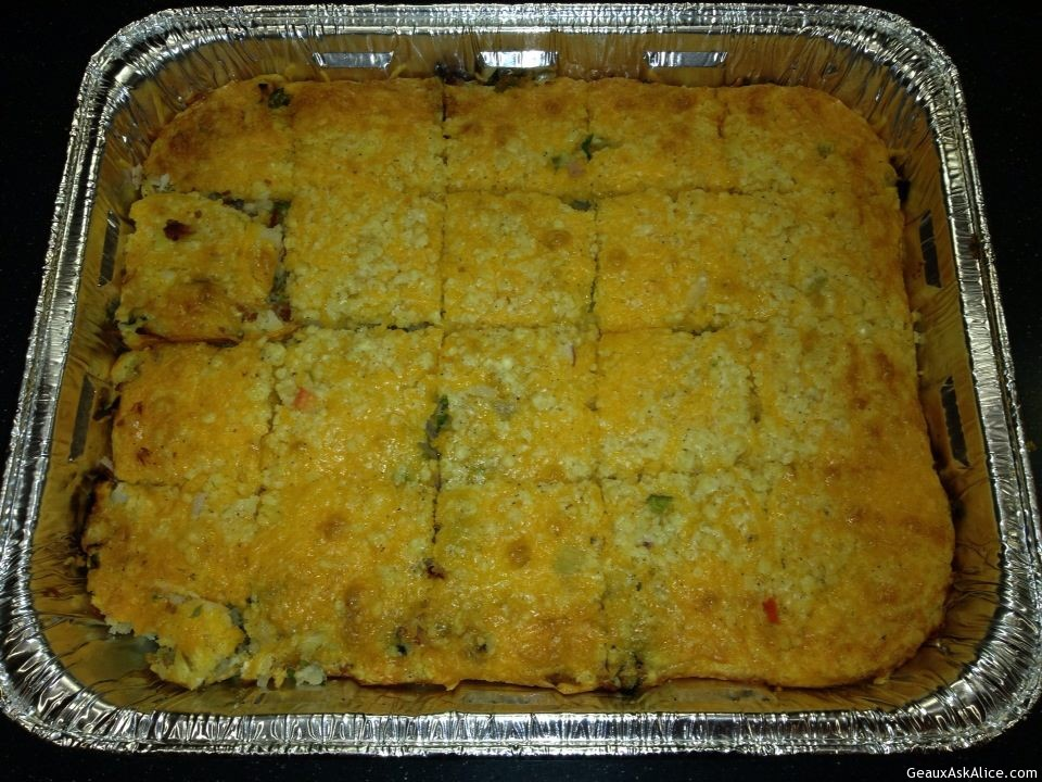 Dish Of Breakfast Casserole.