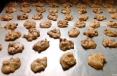 Pralines Dropped In Spoon Fulls To Cool Into Individual Candies