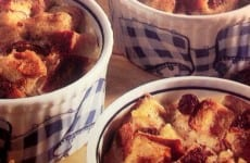 Cups of Bread Pudding