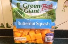 Package Of Butternut Squash