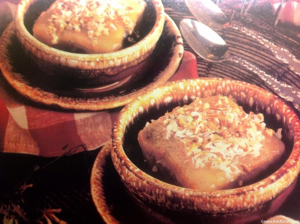 Bread Pudding In Bowls.