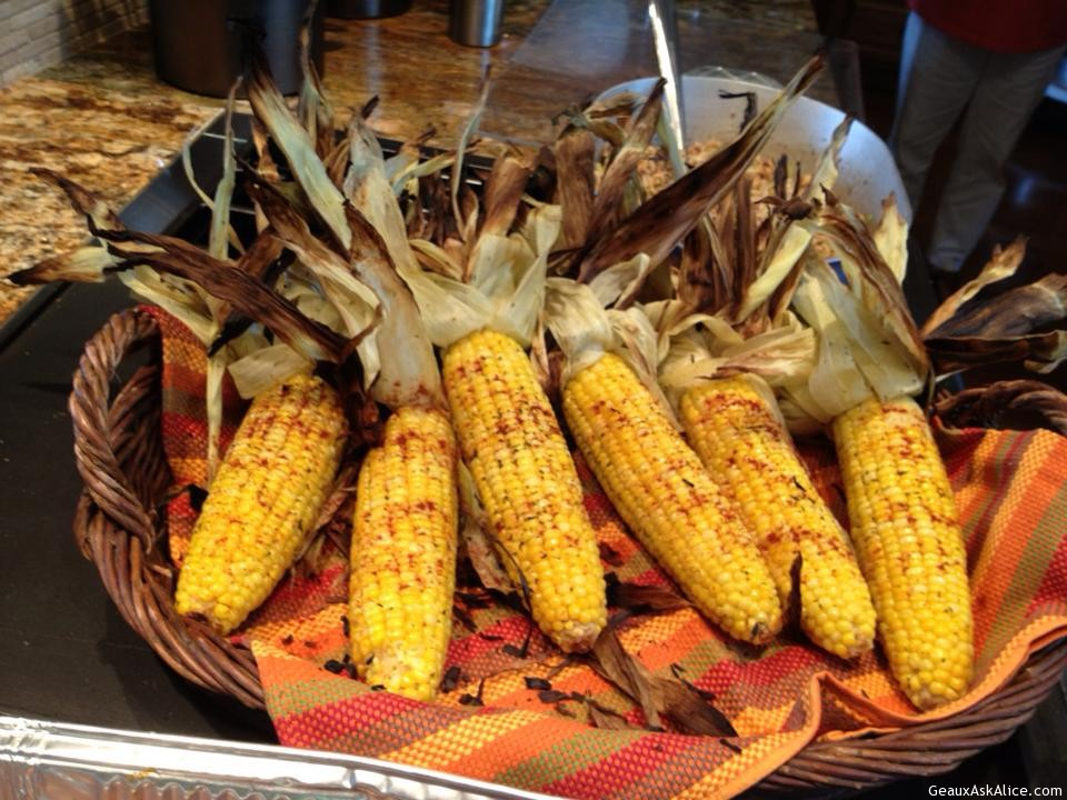 Grilled Corn on the Cob with Roasted Garlic Herb Butter - Geaux Ask ...