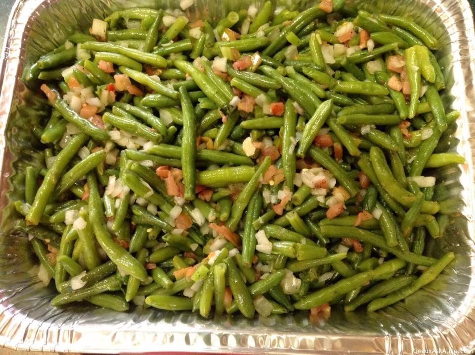 Dish Of Green Beans Italian
