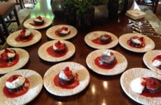 plates of Lava cakes