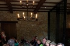 Table Of People Dining At Fleming Winery