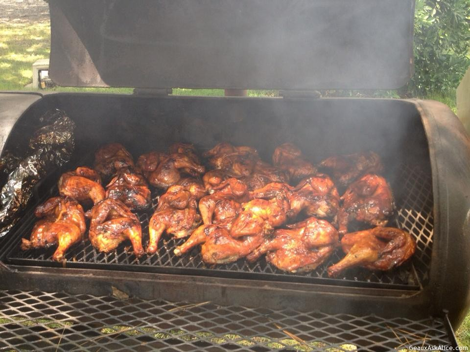 Geaux Ask Pat's BBQ Chicken