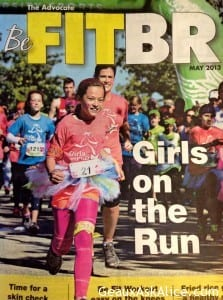Organization called GIRLS ON THE RUN! This past Sunday, The Morning Advocate of Baton Rouge, featured these most amazing gals.