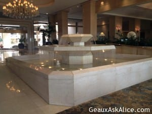 Views from the Lobby at the Phoenician Hotel.