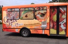 Bus Used For Cajun Food Tours