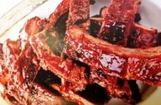 Grilled Root Beer Pork Ribs