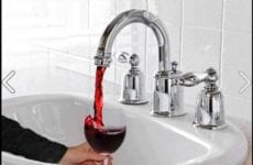 Sink That Pours Wine Instead Of Water