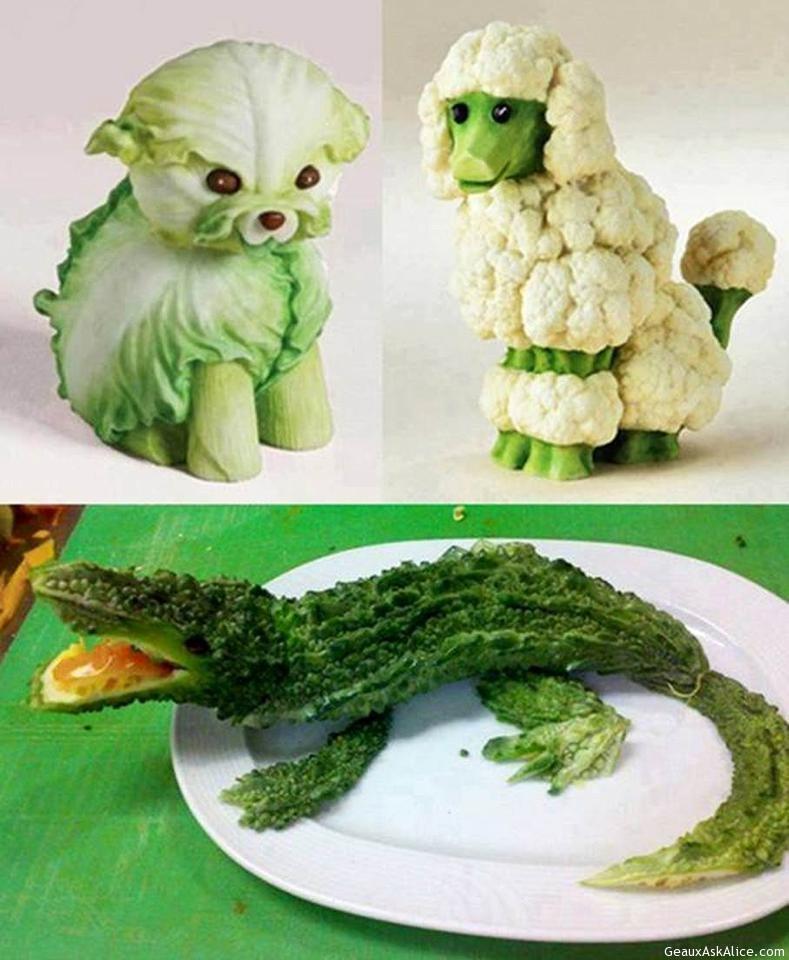 Собачка из овощей своими руками 43