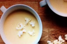 Beer And Cheddar Soup