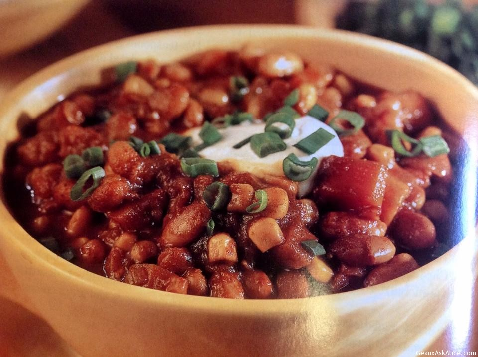 Vegetarian Chili - Geaux Ask Alice!