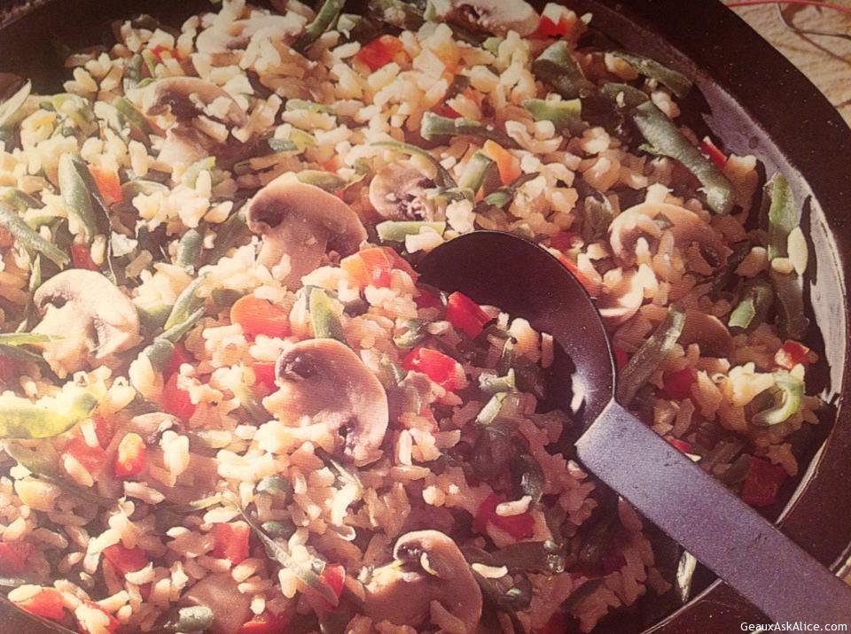 Brown Rice Primavera