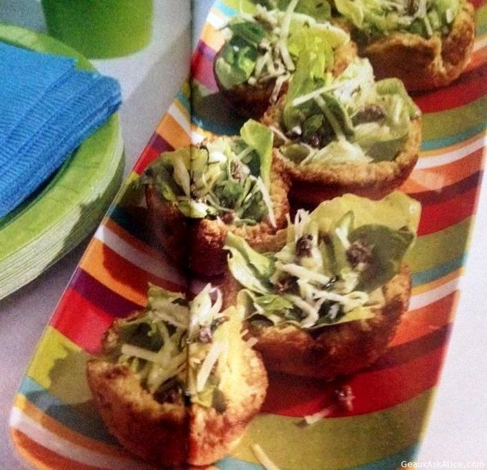 Caesar Salad Tartlets