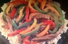 Teriyaki Beef and Sweet Peppers