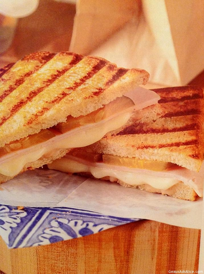 Grilled Fontina Turkey Panini