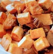 Sweet Butter Pecan Roasted Yams