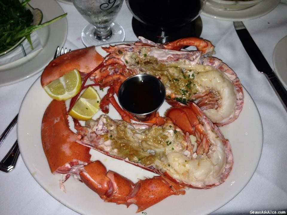 Galatoire's Steak House 33 - Steamed Lobster