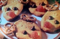 RUDOLPH'S PEANUT-BUTTER COOKIES