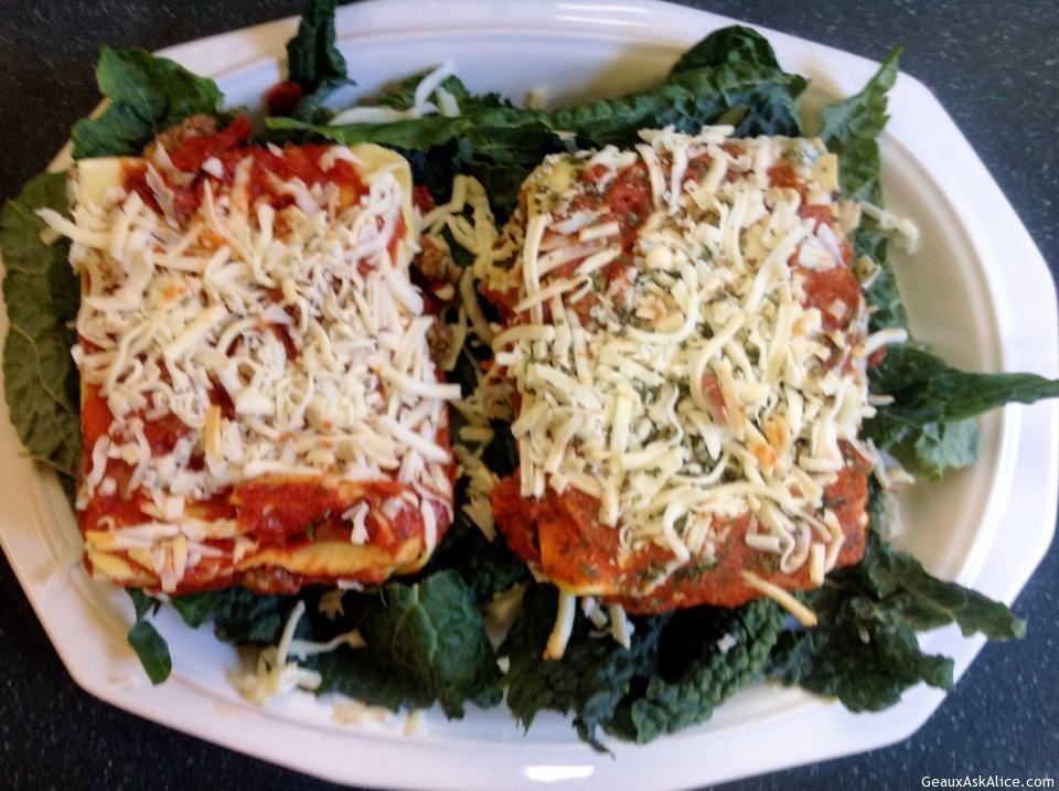 Alice's Meat Or Vegetable Lasagna