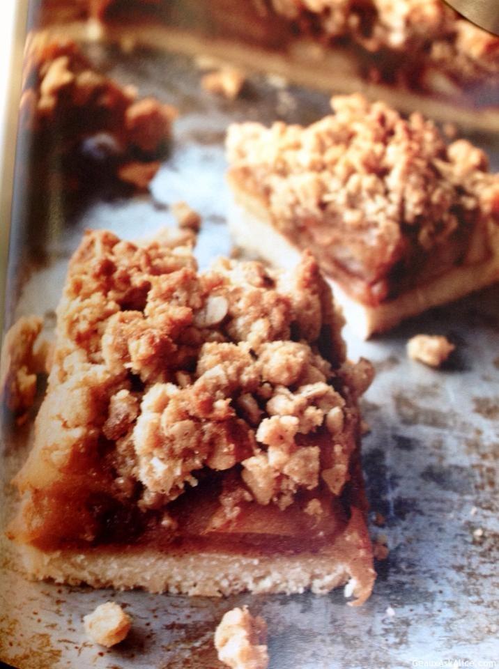 Apple Pie Crunchy Bars
