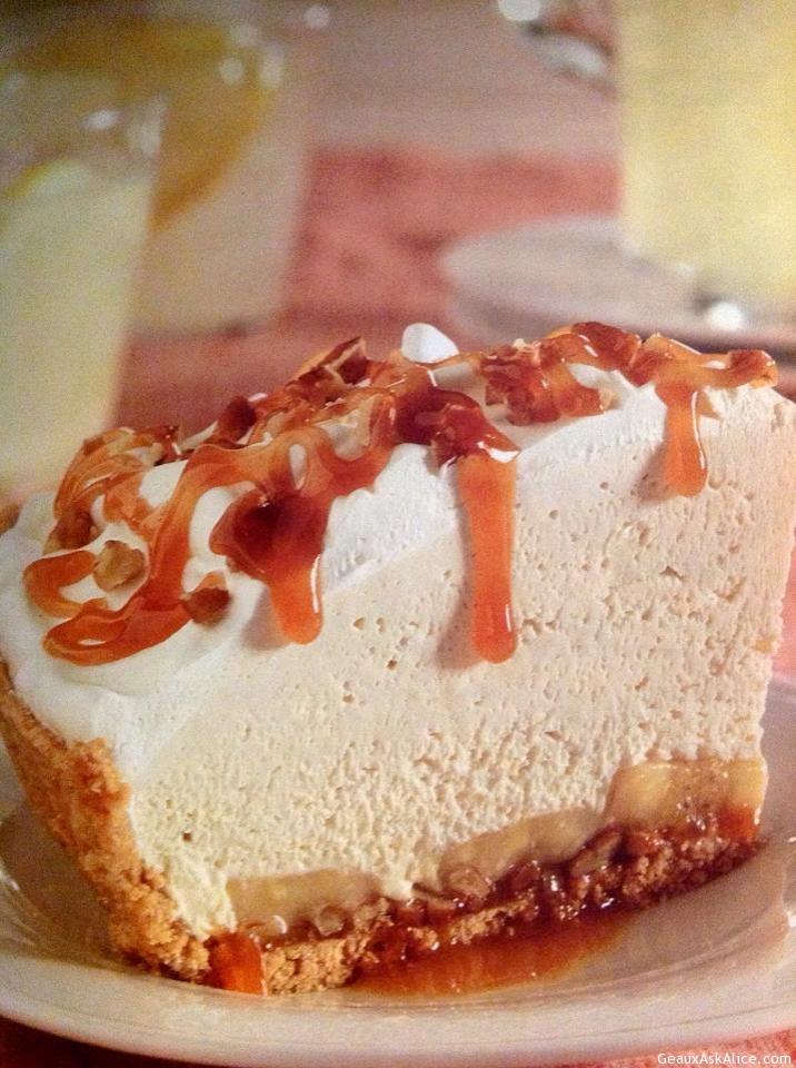 Caramel-Banana Pecan Pie
